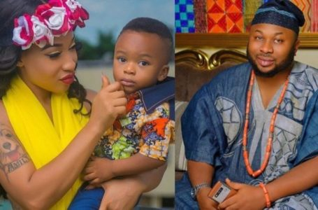 """Go Get a boyfriend"" – King Andre tells his mother, Tonto Dikeh he wants a dad (video)"