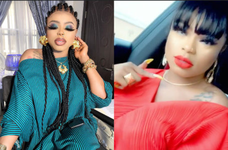 Bobrisky shows off as she meets her politician boyfriend for Valentine (Video)