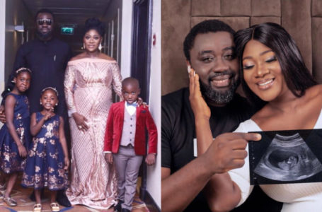 Shut up! You're just a baby Factory – Nigerians blast Mercy Johnson for saying no woman can go near her husband [PHOTOS]