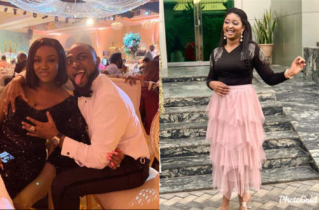 Nigerians blast Etinosa Idemudia after she commented on David and Chioma's photo – See what she said
