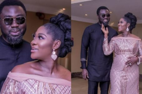Mercy Johnson and husband recorded having a beautiful moment as they celebrate Val (Video)