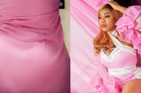 Toyin Lawani ushers in the new month with her crazy twerking skills (Video)
