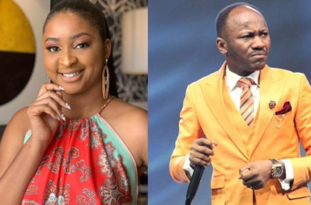 Actress Etinosa reveals  how Apostle Suleman's side chick bleached her skin