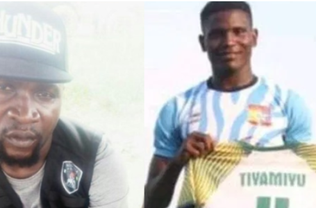 Police dismiss SARS officer involved in the death of footballer Tiamiyu Kazeem