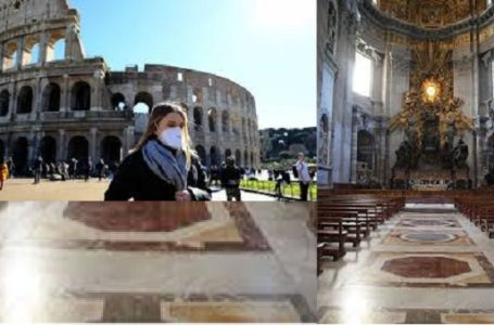 Coronavirus: Rome closes down all Catholic Churches. Read More