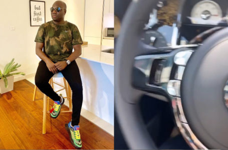 "Mompha flaunts his Rolls Royce Wraith Eagle Viii Bespoke 2020 – ""First African to own the car"""
