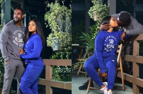 The moment Reality TV star Cee-c locks lips with fine actor Mawuli Gavor in new photoshoot