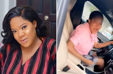 Toyin Abraham blesses her Twitter fans with N5000 to random users: Photo