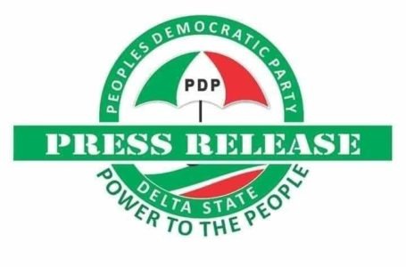 APC caught in the web of lies and deceitful inventions in Delta State: PDP