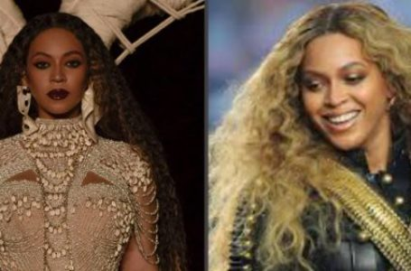 Beyonce says Black is beautiful as she applauds young protesters.
