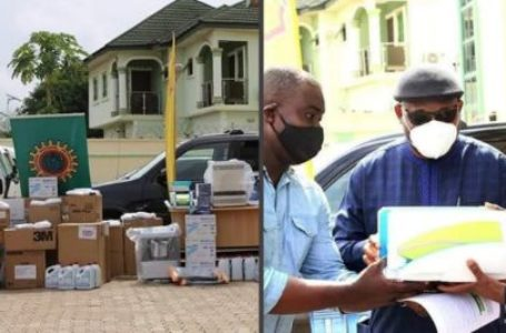COVID-19: Shell donates medical kits to Delta State.