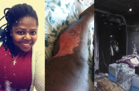He Drove over me & my Mum Multiple time before he set my house on fire -Lady cries out (Photos)