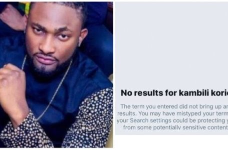 The Lady that made rape allegations against Uti Nwachukwu deactivates her Twitter account, he reacts