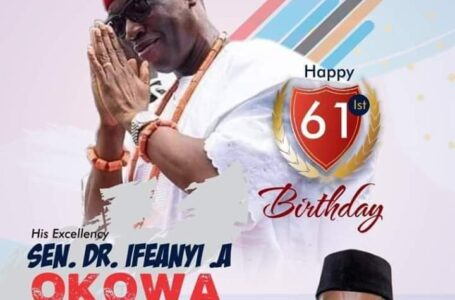 Sir Onyeme Hails Gov Okowa At 61~ Ossai Ovie Success