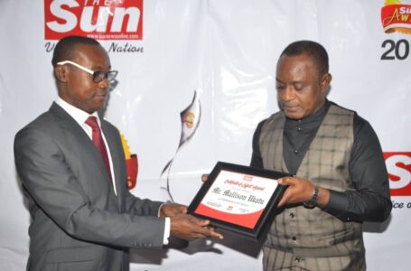 SIR MALLINSON AFAM UKATU:  SUN INDUSTRIALIST/ ENTREPRENEUR OF THE YEAR, AN HONOUR WELL DESERVED.
