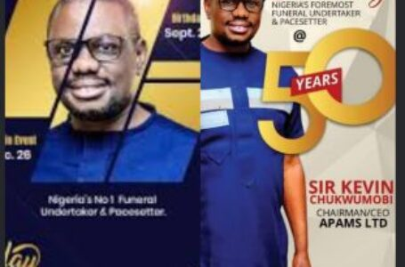 Enormous felicitation, goodwill messages, and encomium as Dr. Kevin Chukwumobi, APAMS boss celebrates 50th birthday