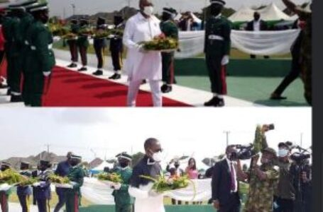 2021 Armed Force Remembrance Day: Okowa, Otuaro Honour Fallen Heroes