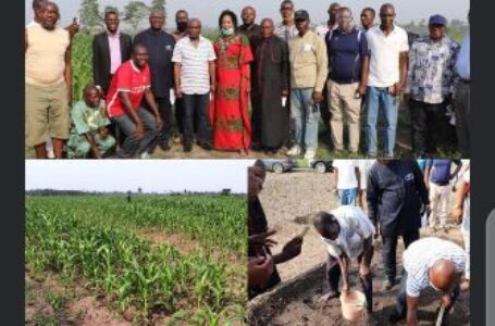 DELTA STATE SG REITERATES COMMITMENT TO SUPPORT COMMODITY FARMERS