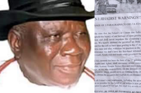 Ban On Open Grazing: Niger Delta Will Fight Fulani Jihadists' Attack With 'All Arsenal' ~ Chief Edwin Clark